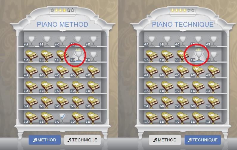Piano Marvel status